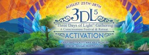 3DL Fest (Three Days of Light): August 25-28 @ near Asheville NC