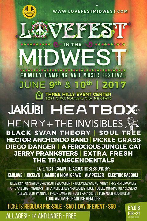 LoveFest Flyer 2017