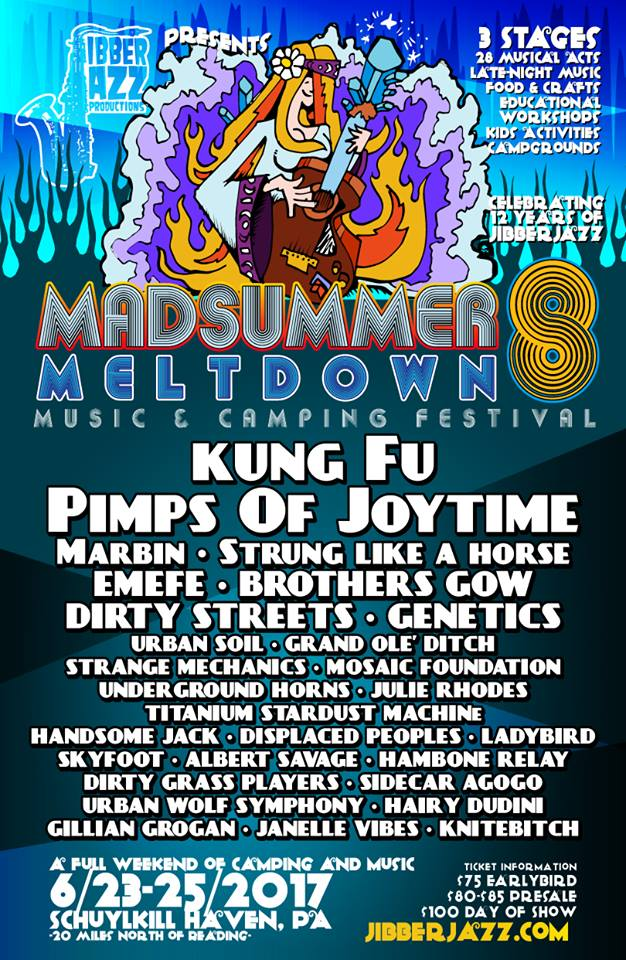 Mad Summer Meltdown Flyer 207