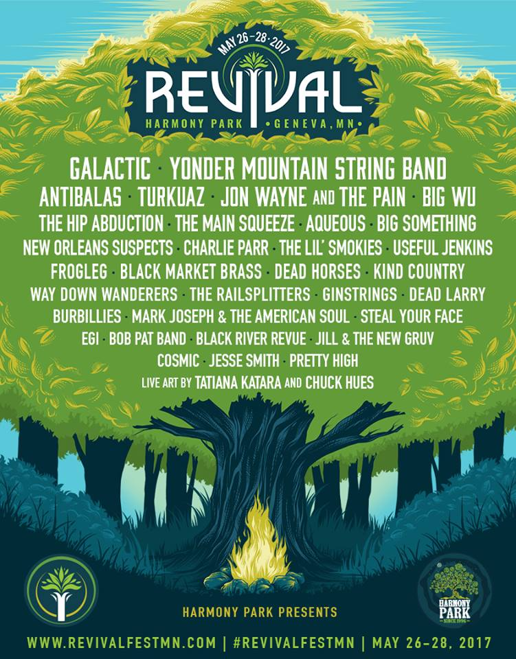 Revival Fest 2017 Flyer